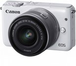 Canon EOS M10 Kit white + EF-M 15-45