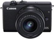 Canon EOS M200 Kit black + EF-M 15-45 IS STM