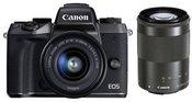 Canon EOS M50 + 15-45mm EF-M + 55-200mm EF-M