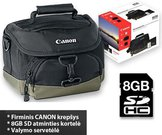 CANON KIT SD 8GB+100EG+LC