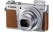 Canon PowerShot G9 X Mark II (sidabrinis)