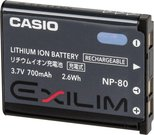 Casio NP-80 DCA Li-Ion rechargeable battery