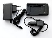 Kroviklis Sony NP-55, NP-77, JVC BN-V12U/20U, VBS1E, VBS2E, V20