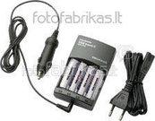 Зарядка Ultraloader 450 travelC + 4AA 2300 mAh