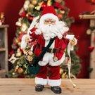 Dekoracija grojanti Kalėdų senelis 45 h 25 w 18 d cmXM3807 kld Viddop
