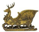 Dekoracija rogutės aukso sp. polirezin. 27,5x33x15 cm 117689 KLD noback