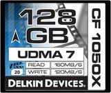 DELKIN 128GB CF 1050X - 160MB/S READ, 120MB/S WRIT