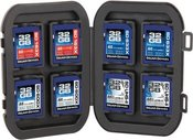 DELKIN WEATHER RESISTANT CASE FOR 8 SD CARDS