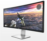 "Dell LCD U3415W 86.5cm(34"")WQHD/LED/IPS/Antiglare/21:9/3440x1440/300cdm2/8ms/H-172,V-178/1000:1/0.2325mm/HDMI,MHL,mDP,DP,6xUSB/HAS,Tilt,Swivel,VESA/Black"