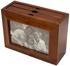 Dėžutė-albumas nuotraukoms medinis 20.1x8.5x15 cm 66807