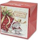 Dėžutė dovanoms pakuoti popierinė 34x34x28 cm 115622 KLD