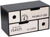 Dėžutė komoda dekoratyvinė MDF 30 x 15 x 16.8 cm 871125205162