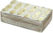 Dėžutė medinė Ananasai 18x10 cm (4 ) 1106 SAVEX
