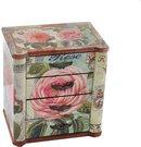 Dėžutė medinė bižuterijai 18.5X13X20 SAVEX