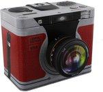 """Dėžutė metalinė """"Fotoaparatas"""" H:15 W:19 D:15 cm HM165"""