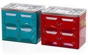 Dėžutė metalinė Viryklė 2 mix 20x13x17,5 cm 871125286999