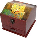 Dėžutė papuošalams 95667 Klimt. Bučinys
