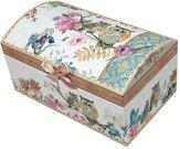 Dėžutė papuošalams 10,5x20x12 cm 102355 su pelėdų piešiniu ddm P77-13939