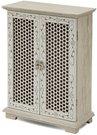 Dėžutė - spintelė medinė ažūrinė 26x20x8 cm 110736