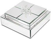 Dėžutė veidrodinė 13x22,5x22,5 cm 113996
