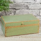 Dėžutė žalia MDF H9 W:22 D:15 cm 62558 Viddop