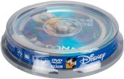 Disney DVD-R 4.7GB 8x Donald 10pcs spindle