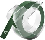 Dymo 3D label 9mm 3m Glossy, green