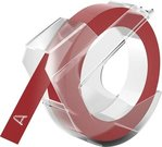 Dymo 3D label 9mm 3m Glossy, red