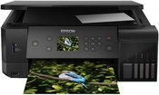 Epson Multifunctional printer EcoTank L7160 Colour, Inkjet, Cartridge-free printing, A4, Wi-Fi, Black