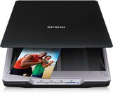 Epson Perfection V19 Flatbed color scanner / 4800x4800 dpi / Color Scan Mode: 48-bit / USB