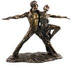 Figūra Šokėjai bronzinė 59787 H:25 W:28 D:10 cm psb
