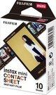 Fujifilm Fotoplokštelės Instax MINI CONTACT SHEET 10vnt.