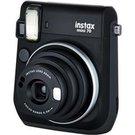 Fujifilm Instax Mini 70 (Juodas) + 10 Fotoplokštelių