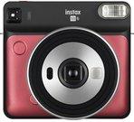Fujifilm Instax SQ6, ruby red + film
