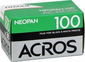 Fotojuosta FujiFilm Neopan 100 Acros 135/36 kadrai