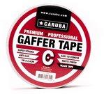 Caruba Gaffer Tape Nano Roll 7mtr x 2.4cm Zwart