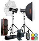Godox QTII studio flash kit - QT400II-D
