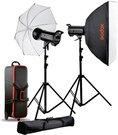 Godox QTII studio flash kit - QT600II-C