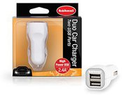 HÄHNEL 12V DUO CAR USB CHARGER 3.4A