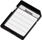 Hama Memory Card Labels 18 pieces, black/white 95916