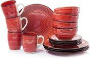 Indų rinkinys pietums 16 vnt. 4-iems asmenims 871125200344 keramikinis