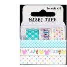 "Washi tape pack ""Baby"" (3pcs x 5m)"