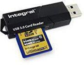 Integral USB 3.0 Card reader - 3 slots