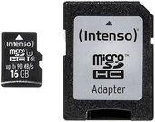 Intenso Micro SDHC 16GB Pro 3433470