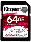 Kingston 64GB SDXC React 100/80 V3