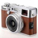 Kompaktinis fotoaparatas Fujifilm X100F Rudas