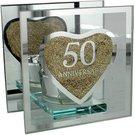 Laikiklis viengubo stiklo 50-ąjam jubiliejui 10,5 h 10,5 w 6,5 d cm WG56050