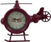 Laikrodis pastatomas Malūnsparnis 19x23x7.5 cm ZE03 raudonas
