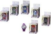 Laikrodis rankinis silikonine spalvota apyranke 871125222559 (9 spalvų)