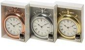 Laikrodis sieninis 26x8x35,5 cm metalinis 871125297925 (3 spalvų)